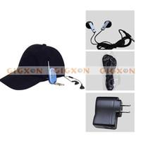 Wholesale NEW MINI DV DVR HIDDEN HAT CAP CAMERA MP3