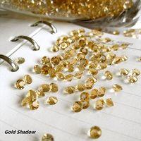 Wholesale 1000pcs set Carat Gold Shadow Diamond Confetti Wedding Party Decor HOT