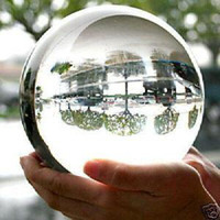 Wholesale Big Tibet White Crystal Sphere Ball Sphere mm