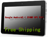 Wholesale 10 inch android tablet pc wifi GPS camera GMHz ARM11 MB GB HDD G MID touch screen