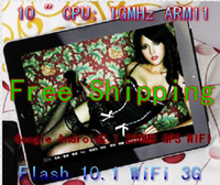 """10 inch Tablet PC 10-10.9'' HK 3% discount Best Christmas gifts ! Google Tablet PC 10"""" WIFI GPS HD Camera 3G Android 2.1 1GHz"""