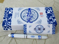 Cheap Best Gift Fountain Pen Cheap China Blue and White Porcelain Pens with Hardcover Box 10pcs Free