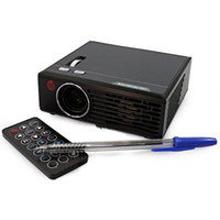 Wholesale Original LZ A3TV ANSI Lumens Projector for Home Theater DVD TV Laptop Sample