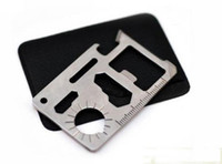Wholesale camping card knife Mini Multifunctional Stainless Steel card knife Survival Knife Survival tool