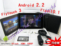 Wholesale Free Keyboard Case Tablet PC Android Flash X220 Flytouch MID Cheap Apad G GPS HDMI GB