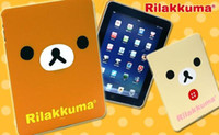 Wholesale Rilakkuma Hard Cover Case Skin For iPad cute bear case protector New design