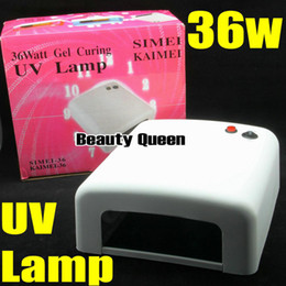 36W UV Lamp Curing Lamp UV Light For GEL POLISH SOAK OFF Nail Art UV Gel CE NEW