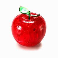 Wholesale 120pcs DIY children s toys Apple D puzzle blocks Apple intelligence D crystal puzzle apple