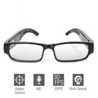 Wholesale OL Fashion Looking Sexy Glasses Spy Digital Video Recorder Hidden Camera