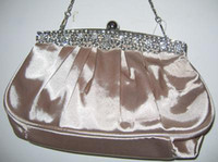 Wholesale Satin Evening Clutch Purse Handbag Bag