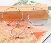 Cheap Fashion jewelry 925 Silver charm bracelet bangle fit European beads hot sale,60pcs lot