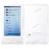 Wholesale 7 quot x Pixel Screen GB Slim E Book Reader Media Player PDF Reader MP5 Player