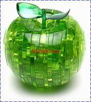 Wholesale games puzzles children s toys apple puzzle intelligence toys hobbies D crystal puzzle toys