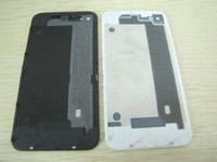 Wholesale Back Housing for iPhone G Glass Back Battery Cover WHITE BLACK Housing Assembly