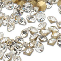 Wholesale BL AA Diamante Clear crystal Rhinestone chaton Point Back jewelery accessory beads