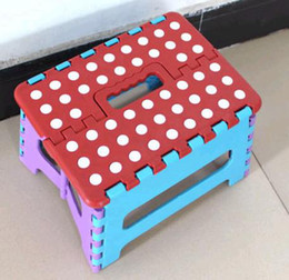 Wholesale Easy Foldable Step Stool chair hold Up to lbs for camping fishing kids folding seat