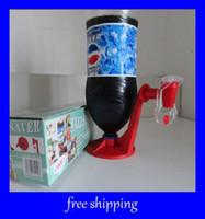 Plastic ECO Friendly red soda dispenser FIZZ SAVER soft drinks fizz keeper Water dispenser Bar Accessories free shipping
