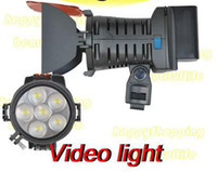 Wholesale LED Camera Camcorder Video Light for Shoot video NEW
