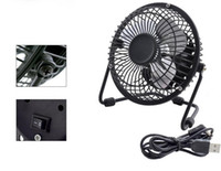 Wholesale Meltal USB Fan Notebook Gift Portable PC Desk Cooler