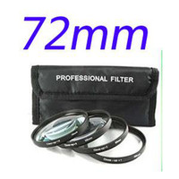 Wholesale 72mm mm SLR Macro Close Up Filter Kit Case