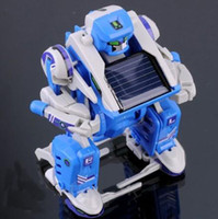 Wholesale 3 in DIY Solar Robot Scorpion Tank Toy Science Educational Assembly Kit Gift Enlightens your kids