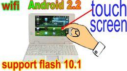 "touch screen 7""laptop UMPC mini laptop 7 inch mini netbook mini laptop computer android 2.2 VIA8650"