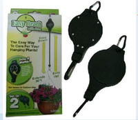 Wholesale Easy Reach Plant Pulley Plant Hanger garden hook pack via EMS