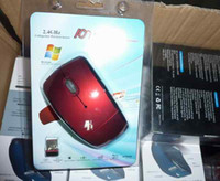 Wholesale 2. 4 GHz Collapsible Wireless Mouse Mice for Laptop...