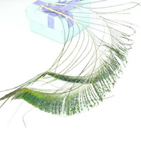 Wholesale peacock cheap feather earring oversized korean earrings ER