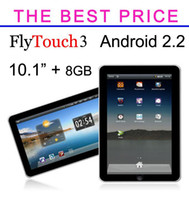 Wholesale 10 quot Flytouch Android GPS Tablet PC GB Superpad Epad Apad Colorful Flash10 Flytouch3