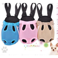 Wholesale New Style Nylon Pet Dog Carrier Backpack Net BagsFFF