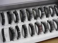 Hand Made b machine - False Eyelashes Individual Fake Eye Lashes False Eyelash Extensions Mixed Order Makeup Box Pair