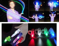 Party LED Finger Ring Red EMS Express Shipping 100pcs lot Wholesale Party Light LED Finger Laser Light