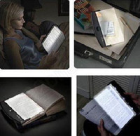 Wholesale Novelty Items Freeshipping LED Night Book Reading Light Panel Lightwedge Paperback