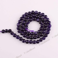 Wholesale 315pcs Dark PURPLE Color Malay jade Charms Beads Gemstone Chains Loose Bead Fit Necklaces mm