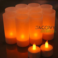 Wholesale Rechargeable LED Candle Light Yellow Candles V V for option
