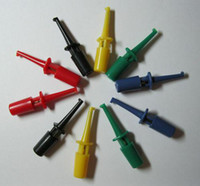 Wholesale Brand New per Clip Small Test Hook Clip for Multimeter colors