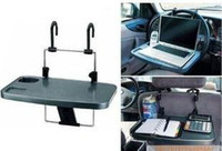 Wholesale 2PCS bargain price car computer desk folding table car vehicle drink tray car accessories