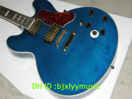 Top Musical instrumets New Arrival Bule Electric Guitar Best Selling OEM Available