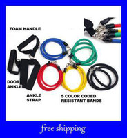 Wholesale hot Resistance Bands Resistance band Elastic band exercise band fitness yoga pilates