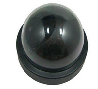 Wholesale RED LED Light Hot Sell Fast ship DOME CCTV SECURITY CAMERA FLASHING