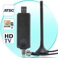 Wholesale 2 USB ATSC Receiver Digital TV HDTV Receiver For PC Laptop BRAND NEW shipping by HK post