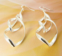 Silver chandelier price - lowest price new sterling silver lovely Earring charm girl ladies Jewelry