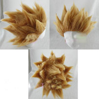 Wholesale DRAGONBALL Z GOKU SUPER SAIYAN HAIR Wig Cosplay A393