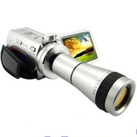 Wholesale Hot DV T Camcorders MP inch LCD DV T digital Cameras with Telescope digital DV DVC