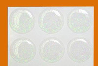 Wholesale 5000 GLITTER EPOXY STICKER MM CLEAR BOTTLE CAP ADHESIVE CIRCLES STICKERS