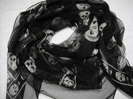 Descuento mejores bufandas de moda Orden CALIENTE de la mezcla del mejor regalo de Navidad de los mantones de las bufandas del cráneo de la manera 50pcs / lot de las ventas CALIENTES