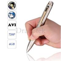 Wholesale 720P HD Camcorder Video Hidden Camera Pen with Audio and GB Memory Y6000