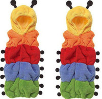 70CM 95CM   Belle maison Baby Caterpillar Sleeping Bag sleep bags FLEECE Infant pajamas sleepwear R34