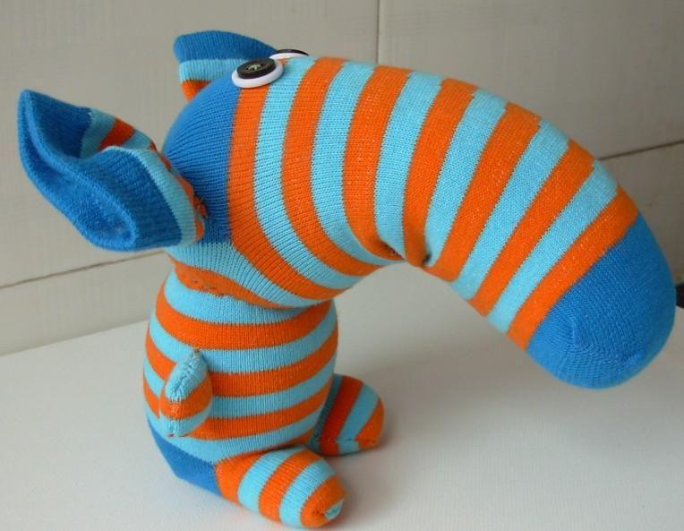 2016 Handmade Baby Elephant Sock Dolls Children's Toys ...